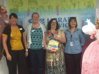 Librarian partners sharing resources and knowledge to reach teen parents