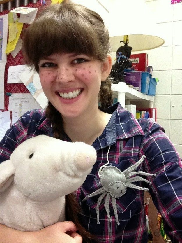 Need a halloween costume idea the outreach librarian fern from charlottes web solutioingenieria Images